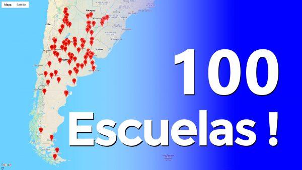 primeras 100 Escuelas